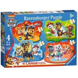 Puzzle Ravensburger progresivo Patrulla Canina. Investigadores expertos