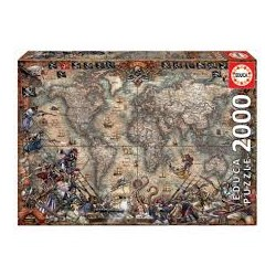 Puzzle Educa de 2000 piezas   Italian Fascino