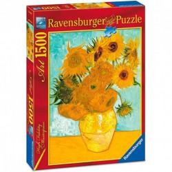 Puzzle Ravensburger de 1500 piezas. Los Girasoles. Van Gogh