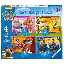 Puzzle Ravensburger progresivo. Paw Patrol: Aventuras de patrulla Canina