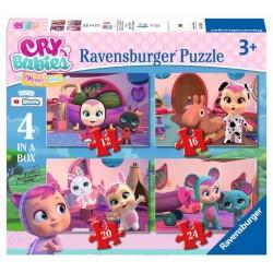 Puzzle Ravensburger progresivo. Cry babies: en casa