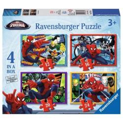 Puzzle Ravensburger progresivo. Ultimate Spider-man