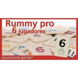 Aquamarine Rummy 6 jugadores