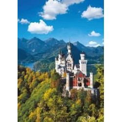 Puzzle Ravensburger de 1000 piezas Neuschwanstein en otoño