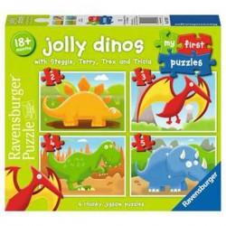Puzzle  de Ravensburger Dinosaurios