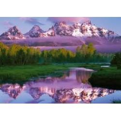 Puzzle Ravensburger de 1000 piezas Parque Nacional Gran Teton, Wyoming