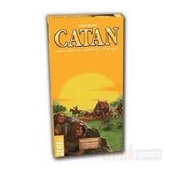 Colonos de Catán Mercaderes y Bárbaros ampliación 5 y 6 jugadores