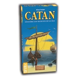 Colonos de Catán Navegantes ampliación 5 y 6 jugadores