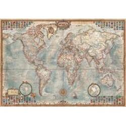 Puzzle Educa de 4000 piezas El Mundo, Mapa Político