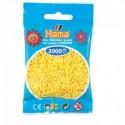 Hama beads Mini amarillo