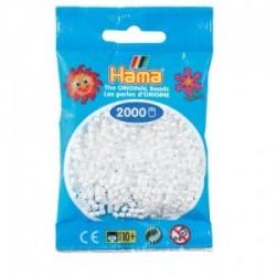 Hama beads Mini blanco