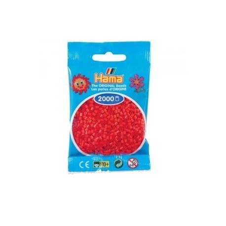 Hama beads Mini rojo