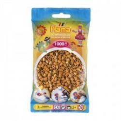 Hama beads Midi marrón claro Mil piezas