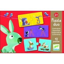 Puzzle duo. Contrarios