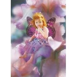 Puzzle de  Clementoni de 1000 piezas. Valerie Tabor Smith. Pink Iris Fairy