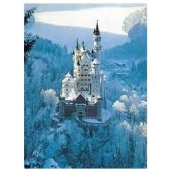 Puzzle Ravensburger de 1500 piezas Neuschwastein en invierno