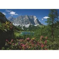 Puzzle  de  Schmidt de 1000 piezas Lago en Tirol