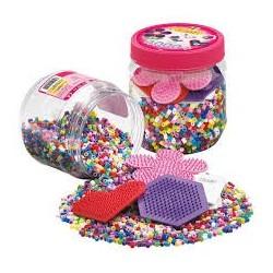 Hama beads Midi Bote + 3 Placas