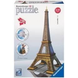 Puzzle Ravensburger 3DTorre Eiffel