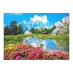 Puzzle Ravensburger de 3000 piezas Paseo del Sella, Dolomitas