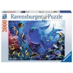 Puzzle Ravensburger de 3000 piezas Mundo submarino