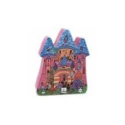 Puzzle silueta Castillo de cuentos