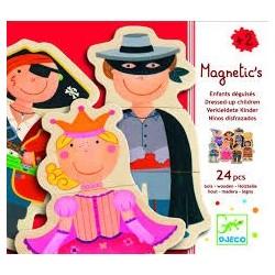 Magnéticos Niños disfrazados