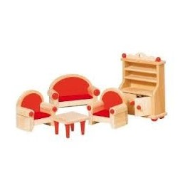 Muebles para casas de muñecas. Comedor