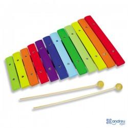 Xilófono Colores