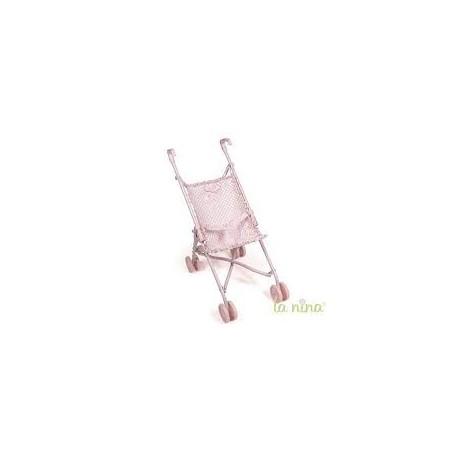 Silla mediana Paula rosa