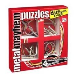 Puzzles de metal. Dificultad difícil