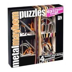 Puzzles de metal. Dificultad extrema