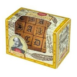Puzzle de metal. Greats Minds. Shakespeare Word Puzzle