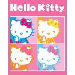 Puzzle Ravensburger de 500 piezas Hello Kitty Pop Art