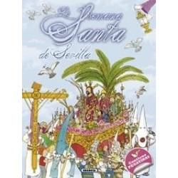 La Semana Santa de Sevilla con pegatinas