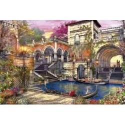 Puzzle Educa de 3000 piezas Romance en Venecia
