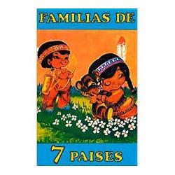 Cartas Infantiles. Familia de 7 países