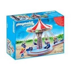 Playmobil 5548 Carrusel con columpios voladores