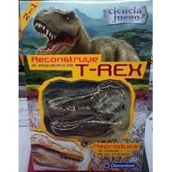 Reconstruye el esqueleto de T Rex