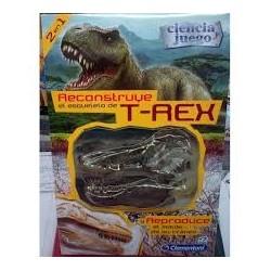 Reconstruye el esqueleto de Triceratops