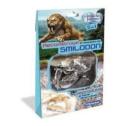 Reconstruye el esqueleto de Smilodon