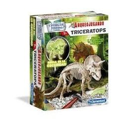 Arqueojugando. Trioceratops