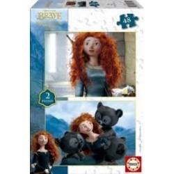 Puzzle Educa de 2 x 48 piezas Brave