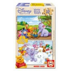 Puzzle Educa de 2 x 25 piezas Winnie the Pooh