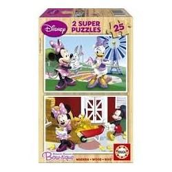Puzzle Educa de 2 x 25 piezas Minnie