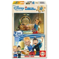 Puzzle Educa de 2 x 25 piezas Meet The Robinsons