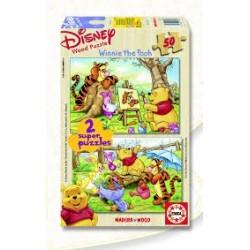 Puzzle Educa de 2 x 50 piezas Winnie the Pooh