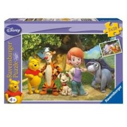Puzzle Ravensburguer de 2 x 20 piezas. Mis amigos Tigger y Pooh
