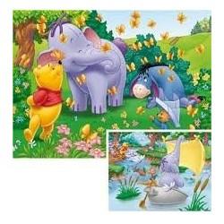 Puzzle Ravensburguer de 2 x 20 piezas. Encuentro en Heffalumps. Winnie the Pooh
