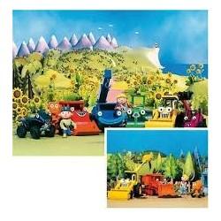 Puzzle Ravensburguer de 2 x 20 piezas. De paseo con Bob the builder